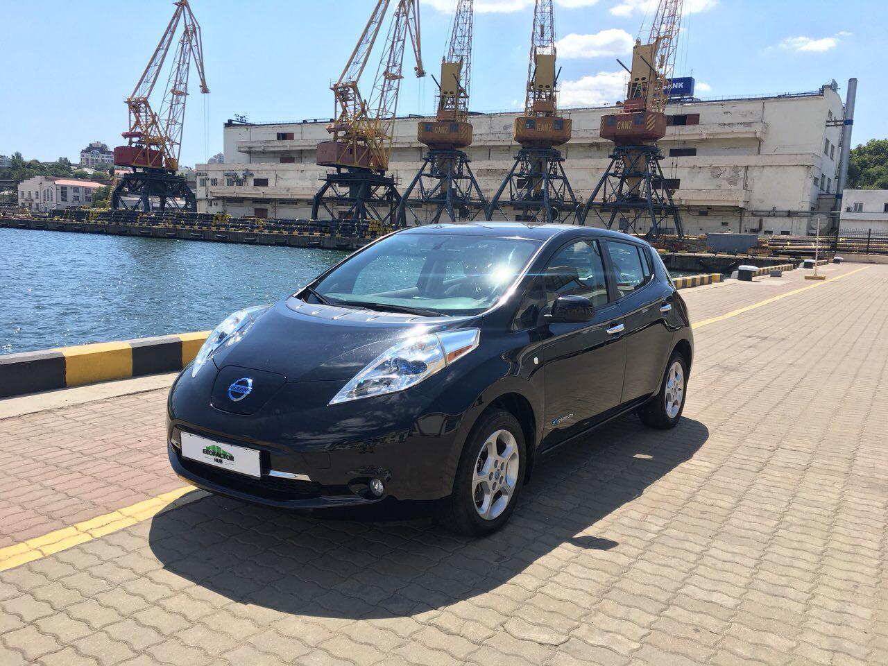 Лизинг электромобилей в Украине